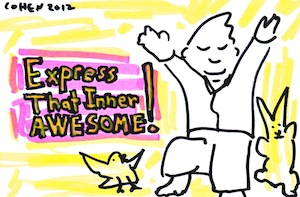 Express your inner awesome
